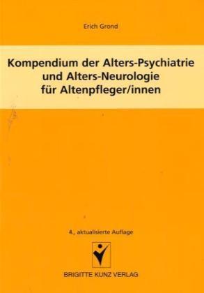 Kompendium der Alters-Psychiatrie und ...