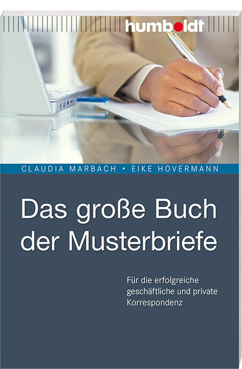 Das Große Buch Der Musterbriefe Humboldt Verlag